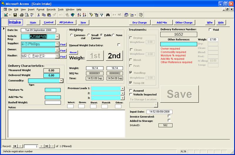 Custom Invoicing Database Billing System PC Access Cheltenham - Invoice database software