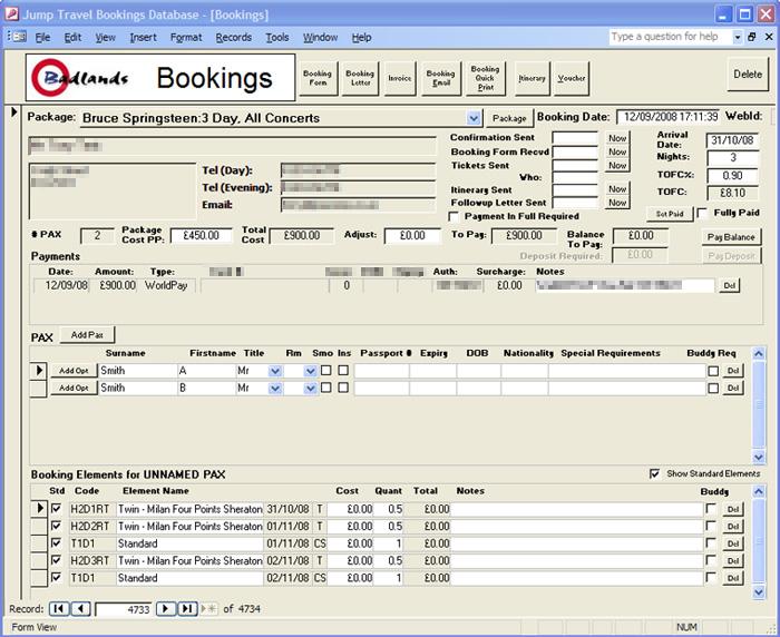 Custom ecommerce website integration | Bruce Springsteen Concert ...