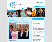 Day Care Centre website with adaptive design