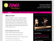 Website with CMS for dance and fitness teacher